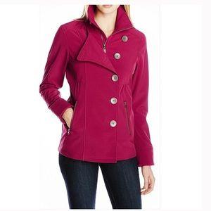 Prana Martina Berry Pink Water Repellant Jacket